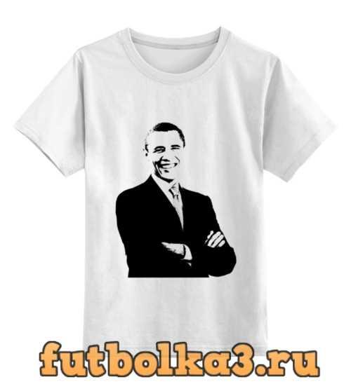 Футболка детская Обама