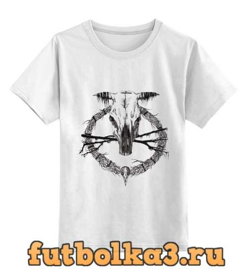 Футболка детская Occult skull / Оккультный череп
