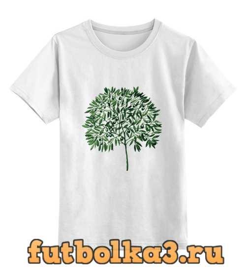 Футболка детская оливковое дерево