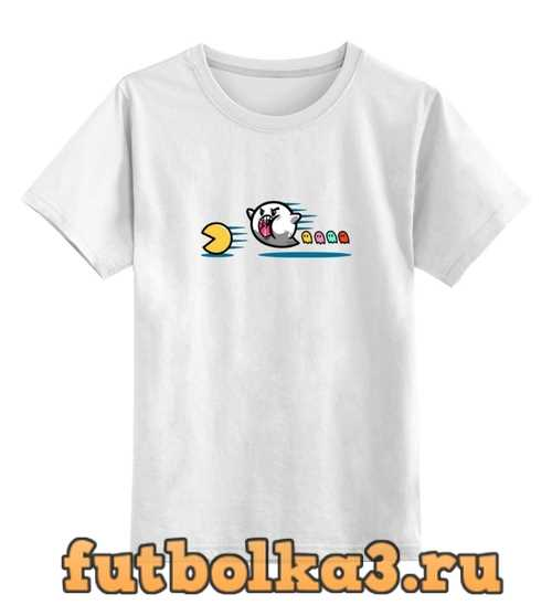 Футболка детская Пакман Приведение