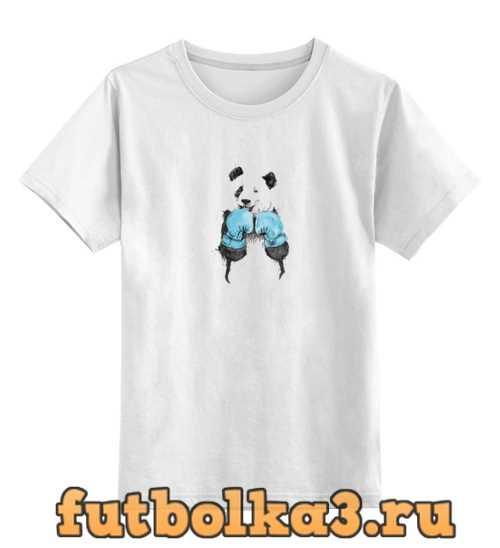 Футболка детская Панда боксер
