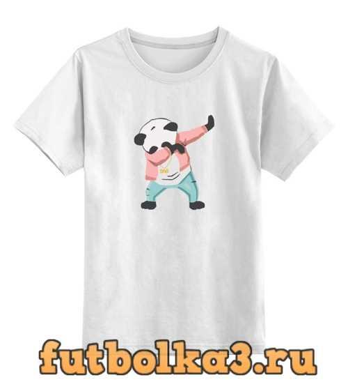 Футболка детская панда даб