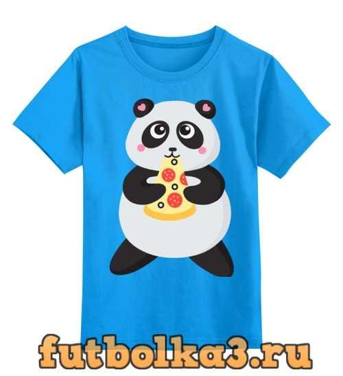 Футболка детская Панда обжора