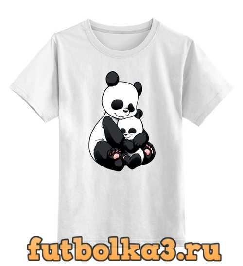 Футболка детская Панда с малышом