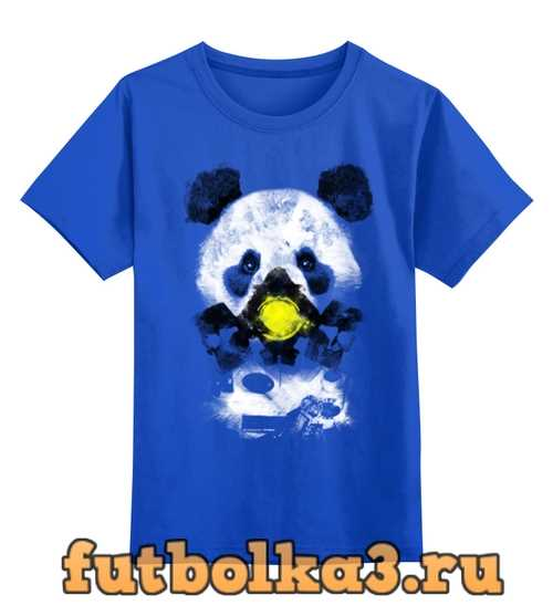 Футболка детская Панда в маске
