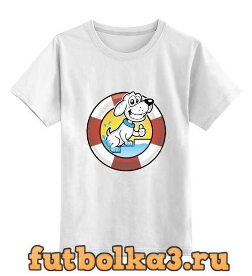 Футболка детская Пёс-спасатель