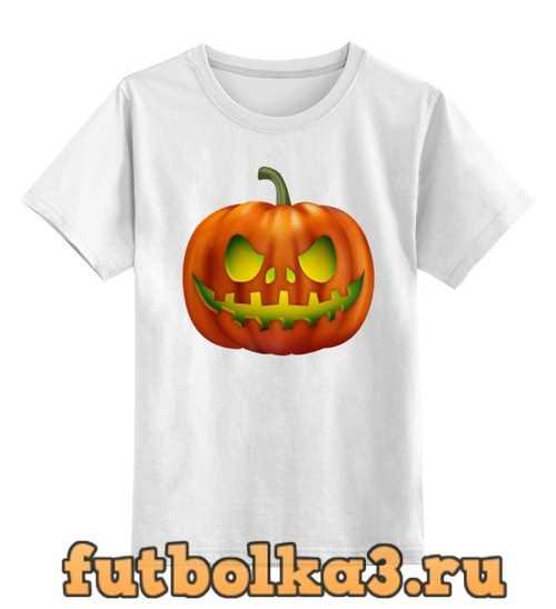 Футболка детская pumpkin