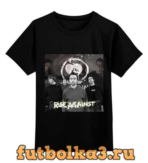 Футболка детская Rise Against - photo