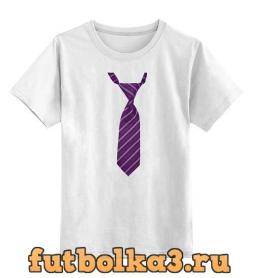 Футболка детская С галстуком