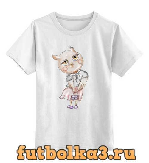 Футболка детская Сова-модница