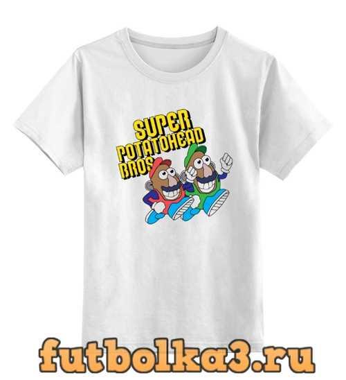 Футболка детская Super mario bros