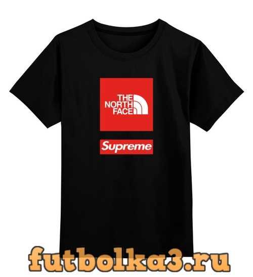 Футболка детская The North Face x Supreme