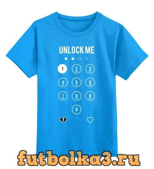 Футболка детская Unlock Me!