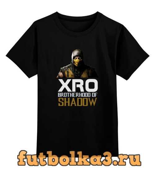 Футболка детская XRO Scorpion MKX