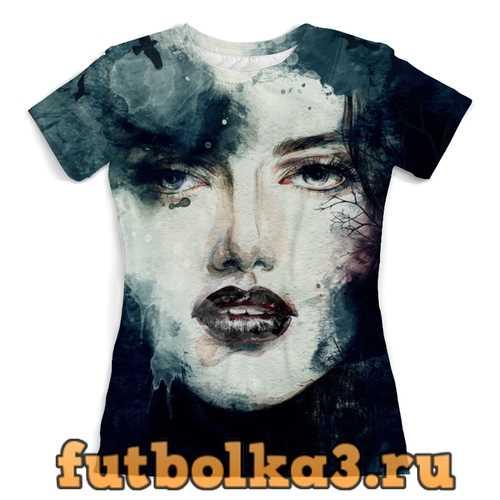 Футболка девушка женская