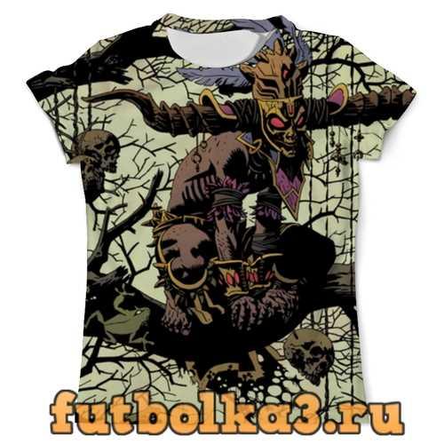 Футболка Diablo 3: колдун мужская
