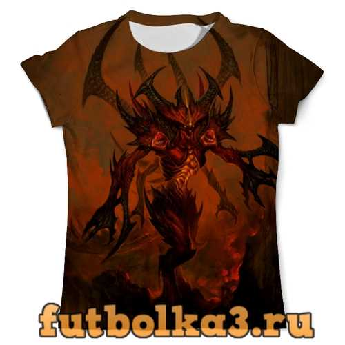 Футболка Diablo мужская