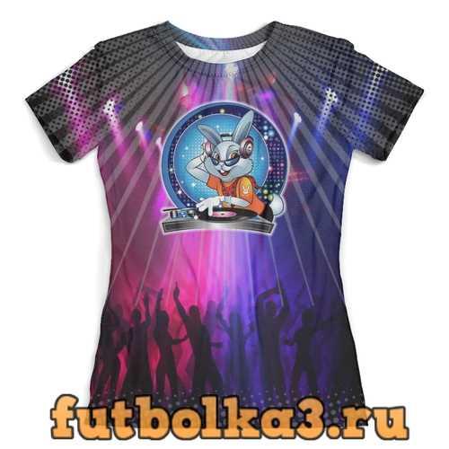 Футболка DJ Rabbit (Disco) женская