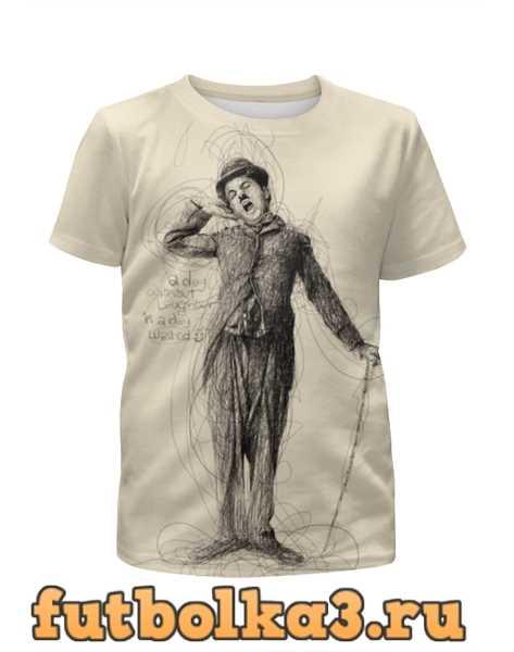 Футболка для девочек Charlie Chaplin