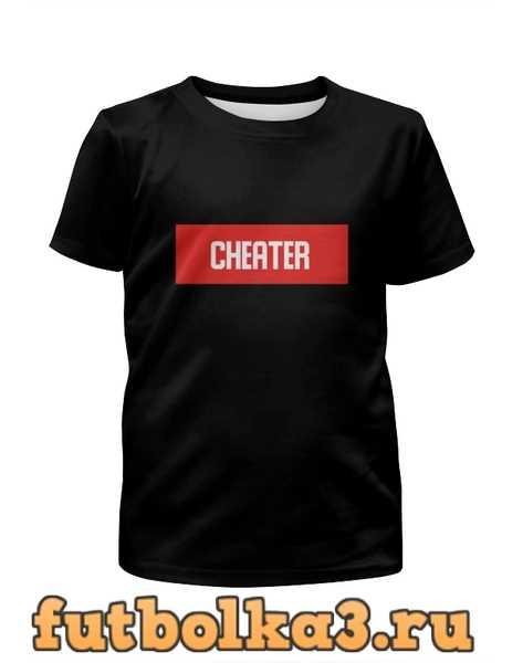 Футболка для девочек Cheater