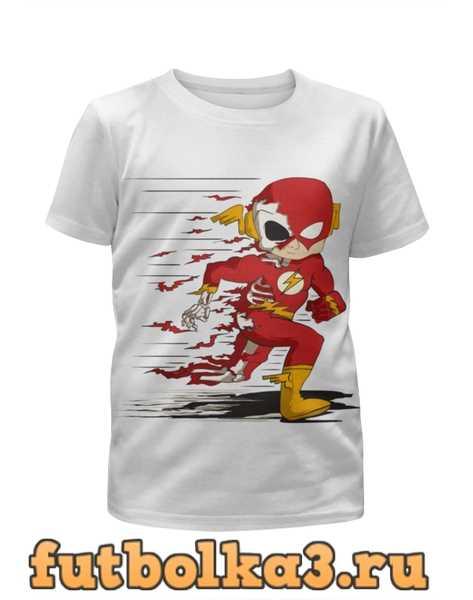 Футболка для девочек Flash (The Flash)