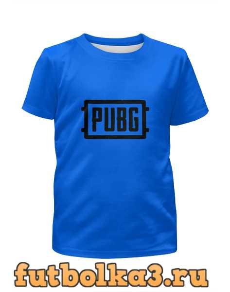 Футболка для девочек игра PUBG