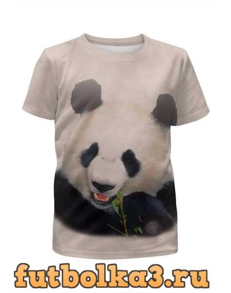 Футболка для девочек Панда