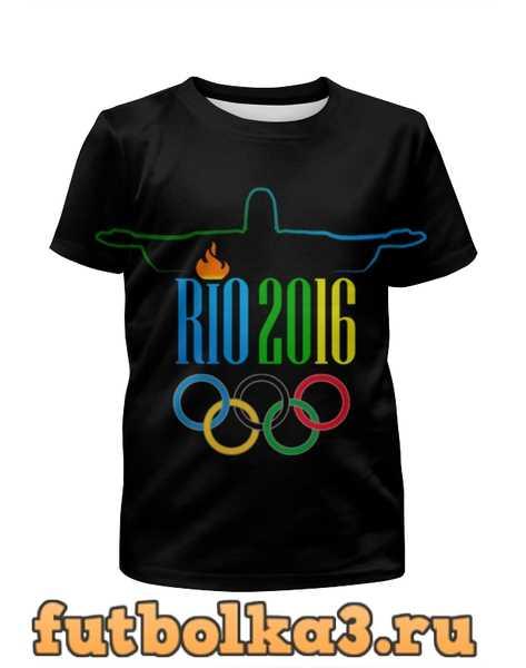 Футболка для девочек Рио 2016