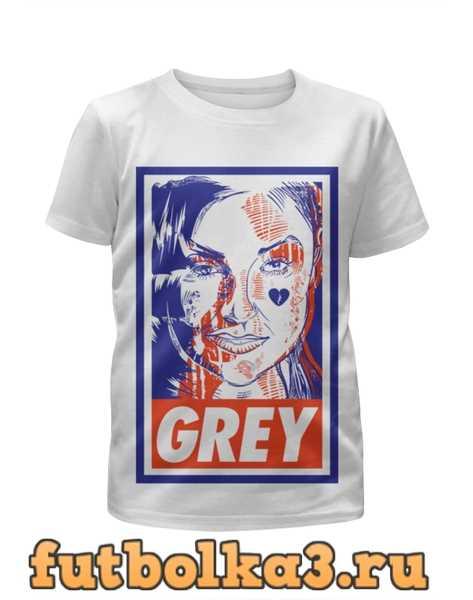 Футболка для девочек Саша Грей (Grey)