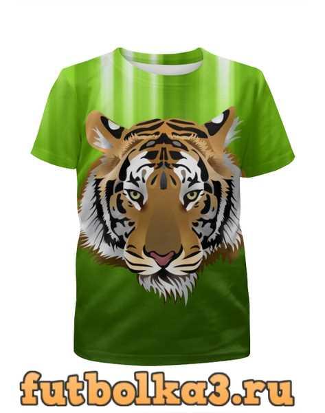 Футболка для девочек Взгляд тигра