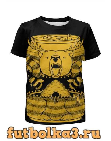 Футболка для мальчиков Bear Beer /Медведь