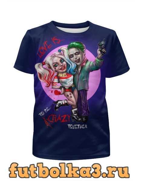 Футболка для мальчиков Harley Quinn & Joker