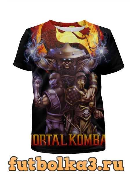 Футболка для мальчиков Mortal Kombat
