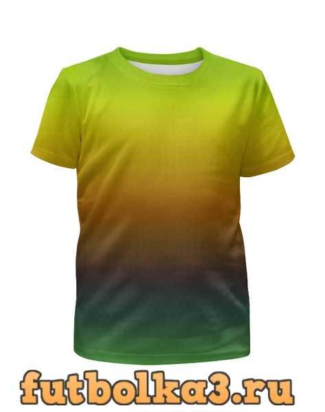 Футболка для мальчиков Переход цвета