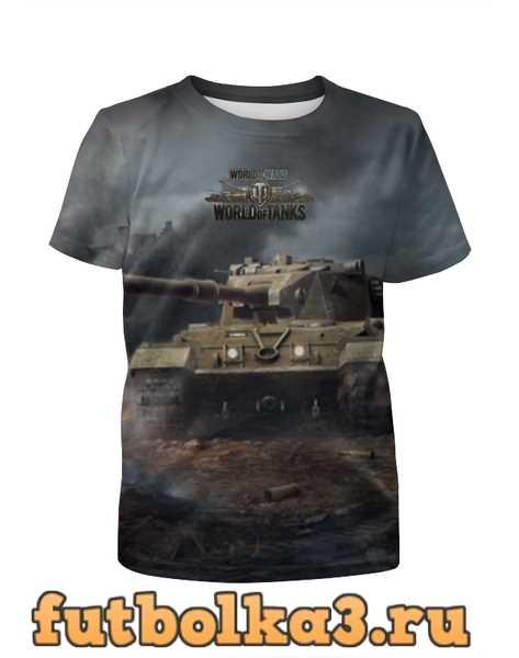 Футболка для мальчиков World of Tanks
