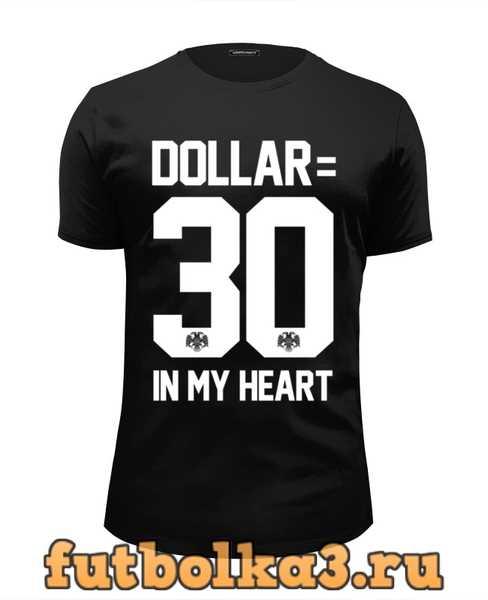 Футболка DOLLAR 30 by DESIGN MINITRY мужская