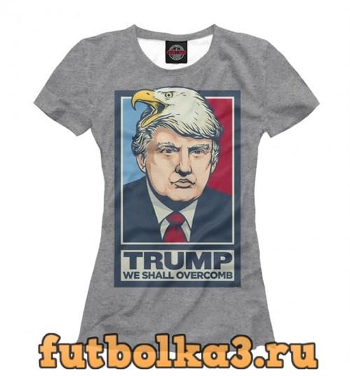 Футболка Donald John Trump женская