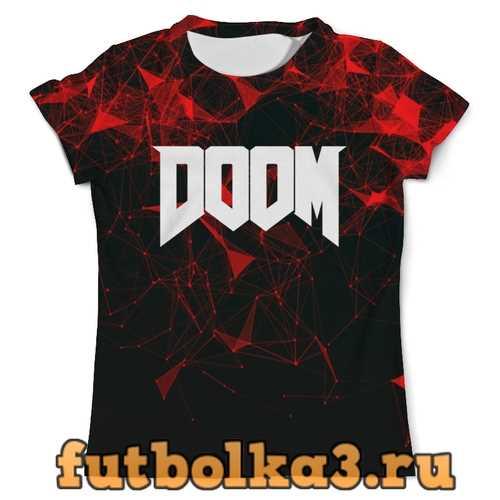 Футболка Doom игра мужская