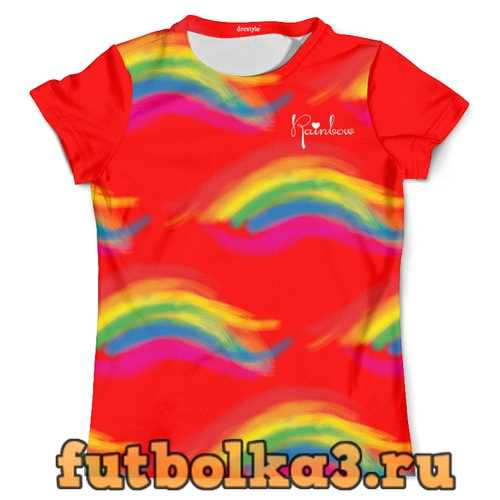 Футболка dorstyle rainbow мужская