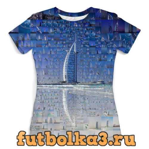 Футболка Дубай женская