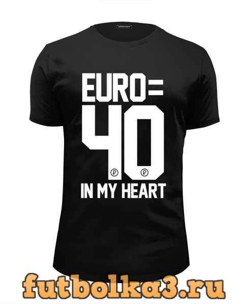 Футболка EURO 40 by DESIGN MINISTRY мужская