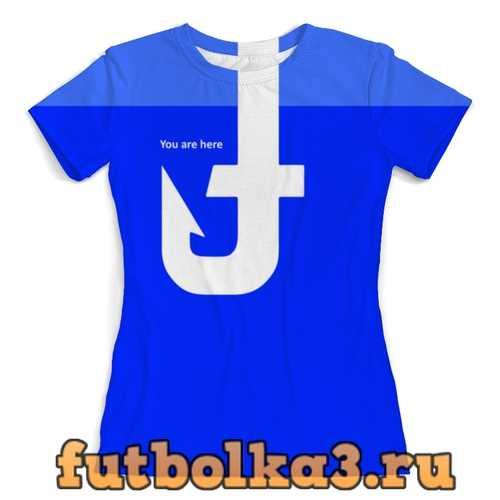 Футболка Facehook женская