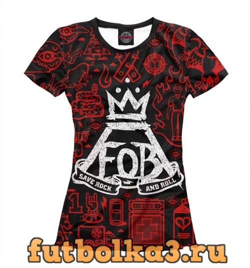 Футболка Fall Out Boy женская