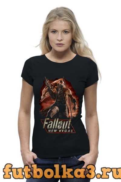 Футболка Fallout: New Vegas женская