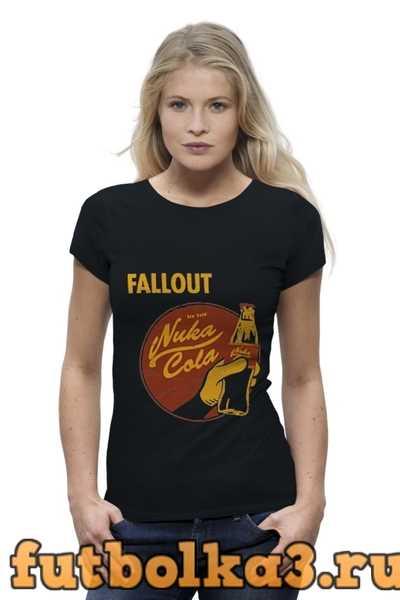 Футболка Fallout (Nuka Cola) женская