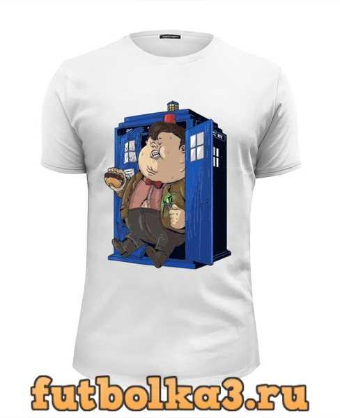 Футболка Fat Doctor Who мужская