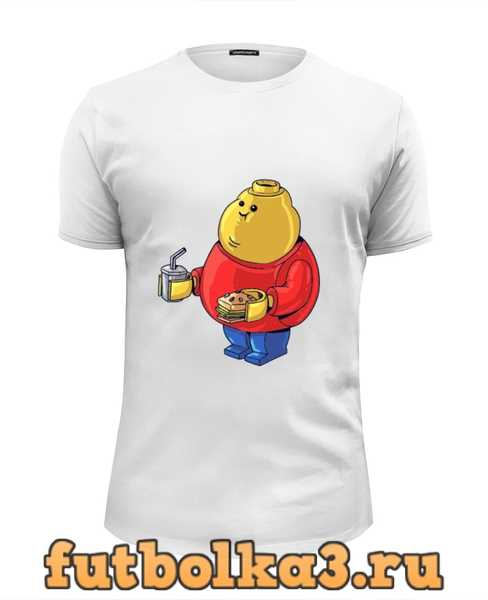 Футболка Fat Legoman мужская
