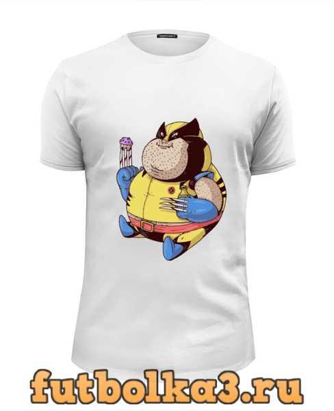 Футболка Fat Wolverine мужская