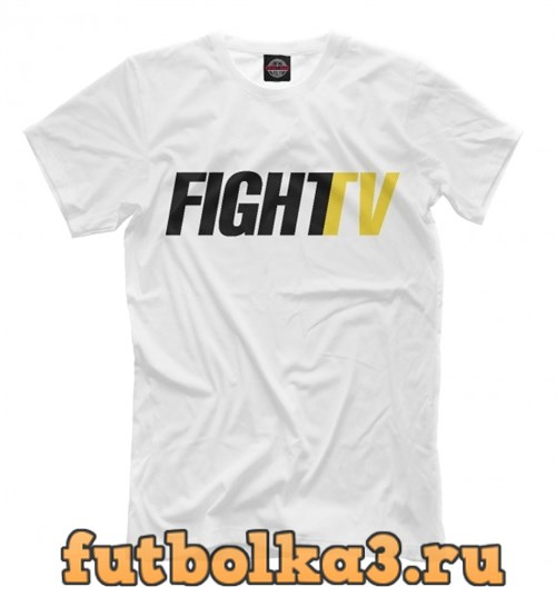 Футболка FIGHT TV мужская