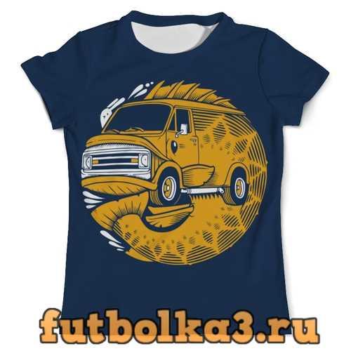 Футболка FISH BUS / Рытобус (рыба автобус) мужская